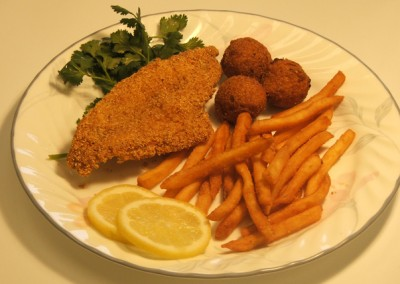 Fried Catfish Fillet Plate
